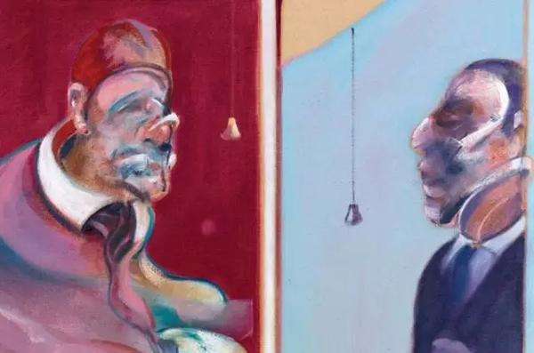《1962年红衣主教习作,1971年第二版》见证了培根两大创作灵感缪斯的相遇