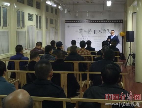 近日,木雕进京交流展在北京紫竹院行宫开幕