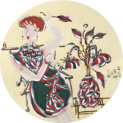 走进意象·工笔重彩名家--曹娜的艺术世界(图)