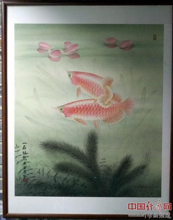 """""""新时代的中国梦""""金甫名庄乔莎国画精品展在京展出"""