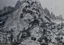 何�F熹(Anika He)国画长卷《富春山居图》欣赏(图)
