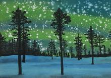 何�F熹绘画携夏威夷BOB、宋汉晓写诗祝圣诞节快乐