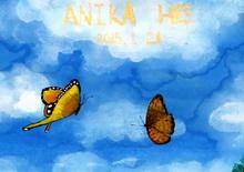画家何�F熹(Anika He)彩色绘画作品(组图二十五)
