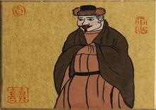 """大唐风韵(何�F熹Anika He""""中熹何璧掌中宝mini系列""""作品组图二十一)"""