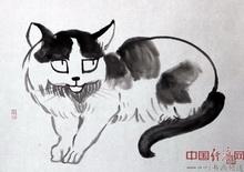 艺术家何�F熹(Anika He)水墨画作品(组图三十八)