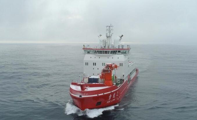 """通讯:2020年""""雪龙2""""号的南极第一网鱼"""