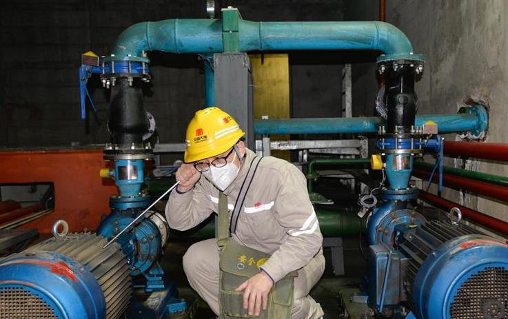 内蒙古:黄河水电站促生产保发电