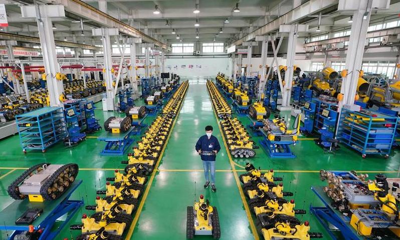 河北唐山加快机器人产业发展