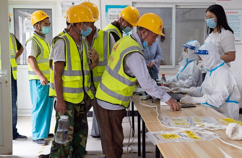 北京大兴:加强建筑工地人员核酸检测