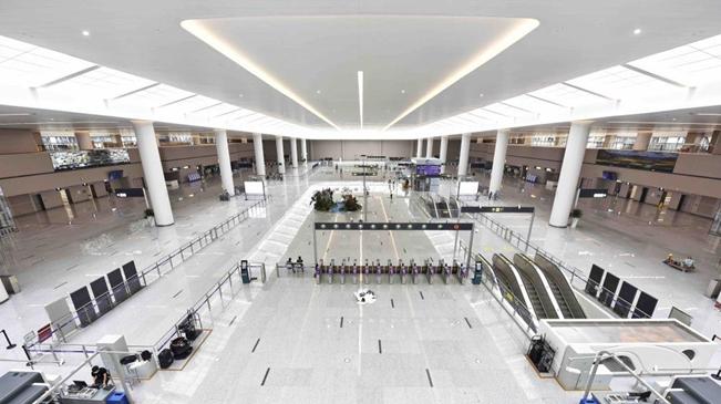 走进成都天府国际机场
